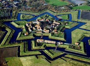 Luchtfoto van Vestiging Bourtange